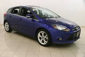 2013 ford focus titanium hatchback for sale used 2013 ford focus for sale mentor oh