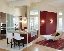 Kitchen Lighting Design Ideas - red kitchen island kitchen lighting ideas crucial design element