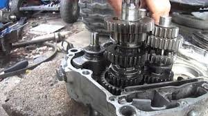how a honda xl transmission works youtube