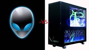 Gaming Desk Tops by Alienware Vs Custom Gaming Pc Is Alienware Worth It Youtube