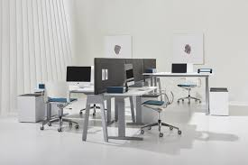 furniture system with a beam infrastructure that maximizes office