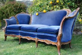 Blue Chesterfield Leather Sofa by Furniture Trendy Blue Velvet Couch Design To Inspired Your