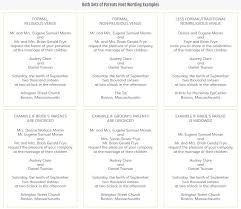 Wedding Invitation Wording From Bride And Groom Etiquette And Wording