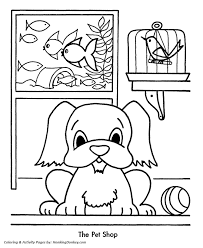 putting presents car coloring shopping colouring