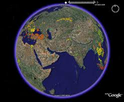World Google Map by The Spread Of Avian Flu With Time New Maps Exploiting Google