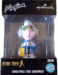 hallmark s trek maxine ornament showing up on ebay