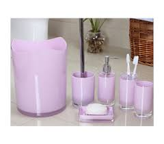 Acrylic Bathroom Accessories 6pcs Acrylic Bathroom Accessories Set