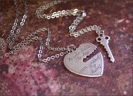 silver heart key necklace images He who holds the key necklace set silver heart key pendant jpg