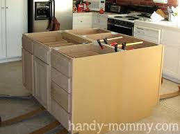 how to build your own kitchen island kitchen island from stock cabinets a kitchen island with