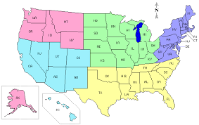 map of usa with compass compass clickable map of united states