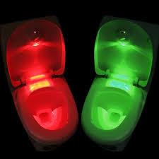 Motion Sensor Bathroom Light Amazon Com Body Sensing Automatic Led Motion Sensor Toilet