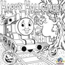 thomas halloween coloring sheets halloween party pinterest