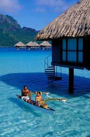 Tiki Hut On Water Vacation 34 Best Overwater Bungalows Images On Pinterest Overwater