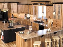 kitchen with hickory cabinets considering the kinds of hickory