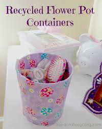 Office Pots by Recycle Your Flower Pots Into Cute Containers