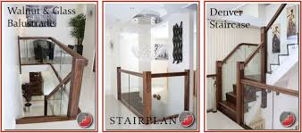 american black walnut staircase balustrades