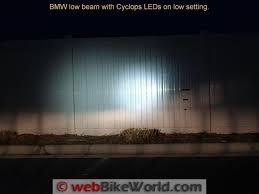 long range optimus led auxiliary light round cyclops adventure sports led light review webbikeworld
