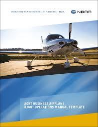 lba flight operations manual template nbaa national business
