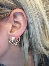 ear climber earrings modern and bohemian jewelry ear jacket earrings ear climber