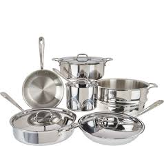 kitchen kitchen sets cookware food qvc com stainless steel sink