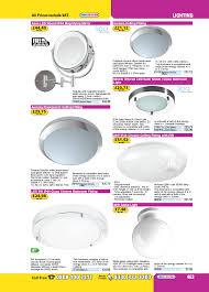 led 9w ip44 glass chrome bathroom fitting 800lm a toolstation