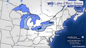 Rochester Ny Map Early Week Lake Effect Snow