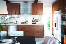 kitchen ideas with brown cabinets brown kitchen design ideas with white table and best lighting