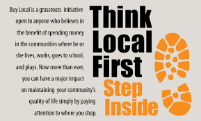 eyecare retail strategies five buy local signs we the