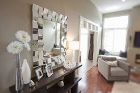 Living Room Mirror Living Room Large Glass Mirror Frame Cream Wall Laminate Wooden