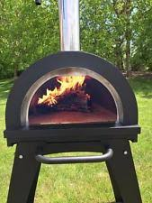 Backyard Brick Pizza Oven Brick Pizza Oven Outdoor Grill Insulated Dome Wood Fired By