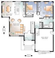 modern open floor plans modern open floor house plans homes floor plans
