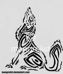 tribal wolf song by mongrelistic on deviantart
