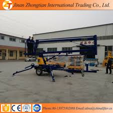 16m towable boom lift for sale trailer mounted boom lift truck