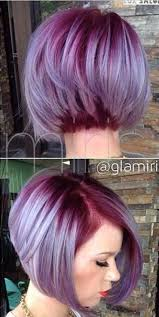 relaxed short bob hairstyle crazy hair colors for short