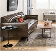 room and board leather sofa room board create a stylish space with this new sofa milled