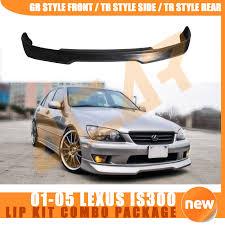 lexus concord ebay 01 05 lexus is300 sxe10 altezza gr front tr side tr rear lip kit