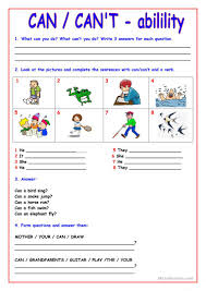 Linking And Action Verbs Worksheets 561 Free Esl Ability Worksheets