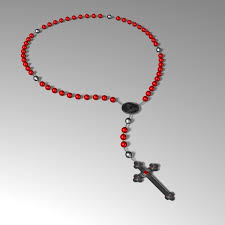 catholic rosary rosary 3d model