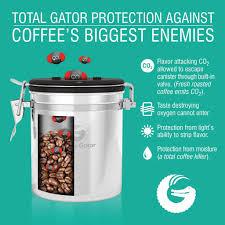 coffee canister gold keep coffee fresher for longer u2013 coffee gator