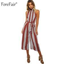 wide leg jumpsuits forefair vertical striped one linen wide leg