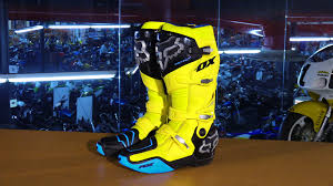 motocross boots review fox racing instinct monster energy cup le motorcycle boots review