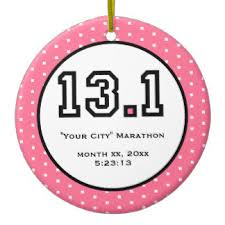 half marathon ornaments keepsake ornaments zazzle