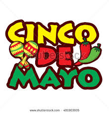 cartoon cinco de mayo cinco de mayo hand drawn lettering stock photo photo vector