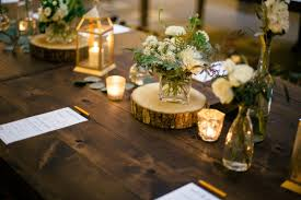 earthy elegant reception table decor elizabeth anne designs the