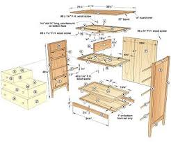 Plans For Bedroom Furniture Plans For Dresser Free Woodworking Plans And Projects Information