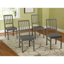 Dining Room Chairs Set Of 4 Wood Set Of 4 Kitchen Dining Room Chairs For Less Overstock