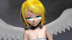 mmd angel of darkness ft angel rin youtube