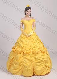 Beauty Beast Halloween Costume Wholesale Princess Belle Costume Beauty Beast