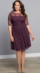 cream lace dress plus size pluslook eu collection