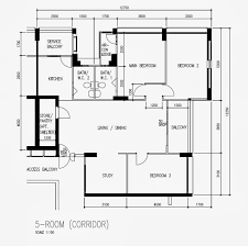 Hdb Flat Floor Plan Butterpaperstudio Reno Toa Payoh 5 Room Hdb